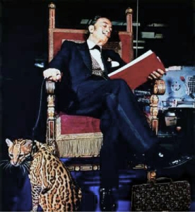 Dali and his Ocelot